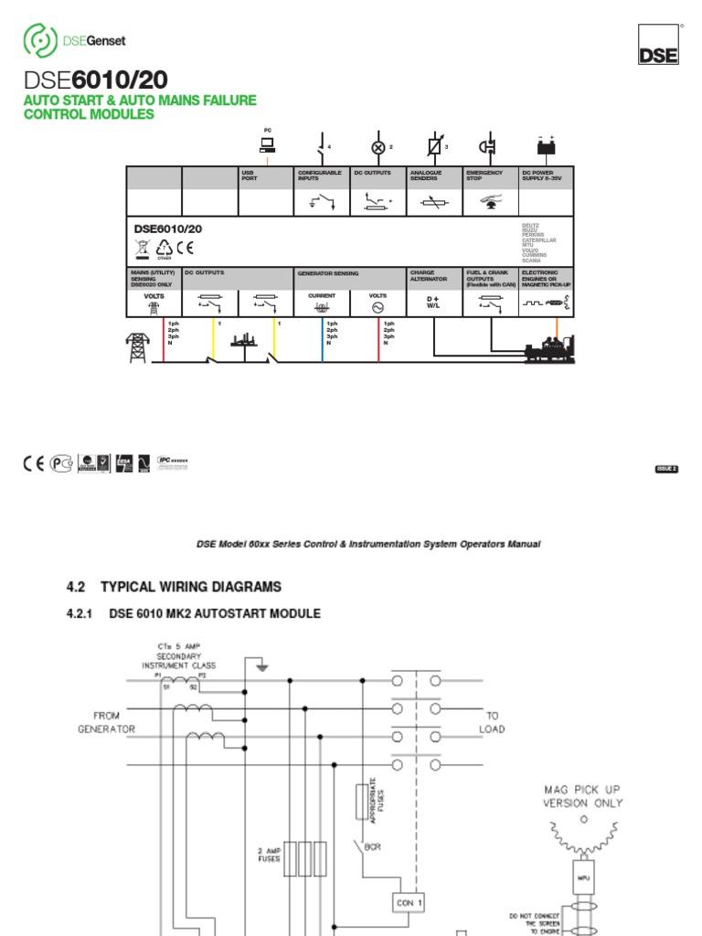Dse601020 Wiring Diagram Deepsea