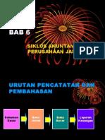 Bab-6 (Siklus Akuntansi Perusahaan Jasa)