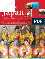 Japan Tour Brochure-2013