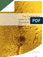 111123 Studie - Wirtschaftsfaktor Bier - Contribution Beer European Economy