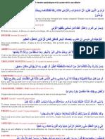 Roqya Liste Des 45 Versets Symbolique