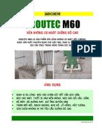 3.Groutec M60