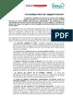 [CP]Rapport Lescure