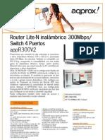 APPR300V2 Ficha Tecnica