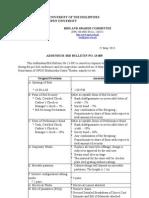 Addendum/Bid Bulletin 13-005