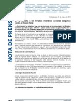 El Parlamento Europeo reclama a los Estados miembros acciones conjuntas contra el fraude fiscal.