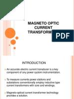 Magneto Optic Current