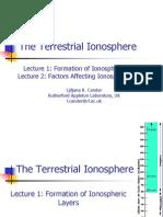 terrestrial ionosphere - part1/2
