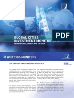 Observatoire Des Investissements Internationaux Principales Metropoles Mondiales 2013