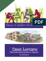 """Menu Tasca """"El Cotilleo de La Villa"""" Casa Lercaro"""