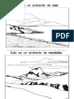 2.- Ambiente de mar y montaña