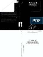 Damasio, Antonio R - El error de Descartes [pdf].pdf