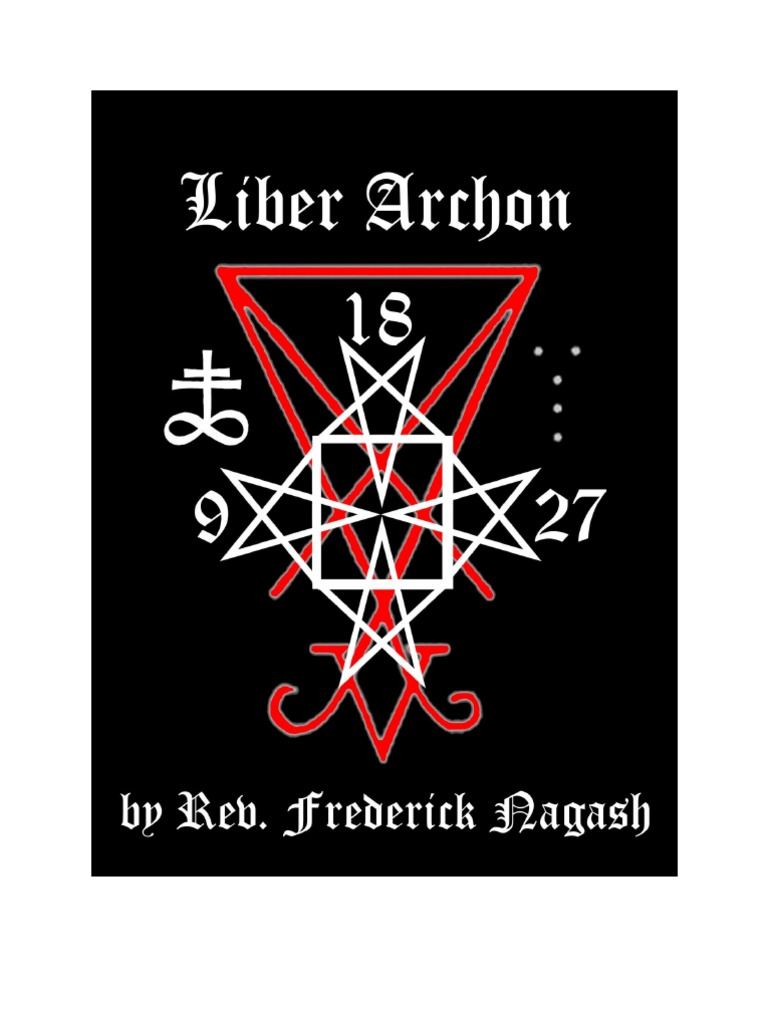 Liber archon magic paranormal magick thelema fandeluxe Images