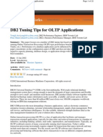 DB2 Tuning Tips for OLTP Applications
