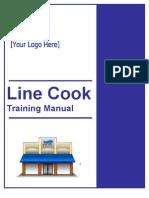 Line Cook Manual