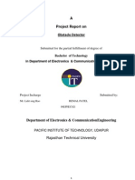Project Report on Obstacel Detector Using 7404