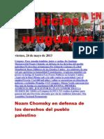 Noticias Uruguayas Viernes 24 de Mayo Del 2013