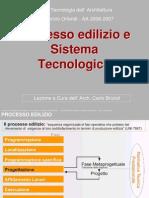 Processo edilizio e Sistema Tecnologico prof. Arch. Fabrizio Orlandi BrizioliCorso di Tecnologia dell'Architettura -AA 2006-2007