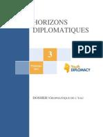 Horizons-diplomatiques-n°-3-Géopolitique de l'eau Printemps 2013 YD
