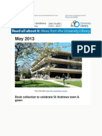 Library Newsletter May 2013