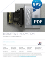 Citigroup - Disruptive Innovation