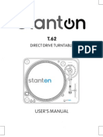 Stanton t62 Manual