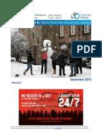 Library Newsletter December 2012