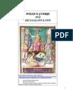 POESIA E GUERRA NO SÉCULOS XVI E XVII - Trabalho do Semestre