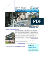 Library Newsletter September 2012