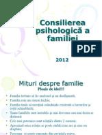 Consilierea de Familie