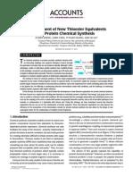 Development of New Thioester.pdf