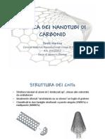 Chimica Dei Nanotubi Di Carbonio