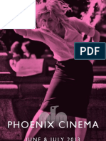 Phoenix Cinema Brochure - June & July 2013