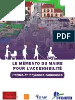 Memento Maire Accessibilite 2011