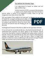 The Story Behind Jet Airways Logo