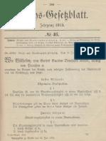 Reichs- und Staatsangehörigkeitsgesetz 1913