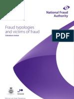 Fraud Typologies