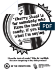 Cherry Skoal - Killer Quotes Poster