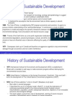 History of Sustainable
