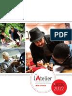 l'Atelier Rapport Activite 2012 Web