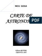 Carte de Astronomie - Nicu Goga