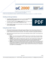 Microc 2000 Ops Guidelines