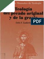 LADARIA, L. F., - Teología del pecado original y de la gracia - Sapientiae Fidei 10 -BAC 1993