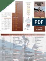 Folleto Liga Clubes 2009