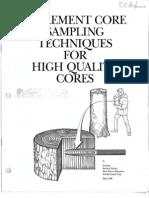 Increment Core Sampling