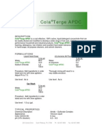 ColaTerge APDC