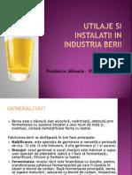 utilaje in industria berii