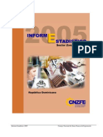 Informe Estadistico 2005 en Espanol