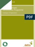 New Technologies Demonstrator Programme