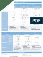 Formulas Electricas y Electronicas